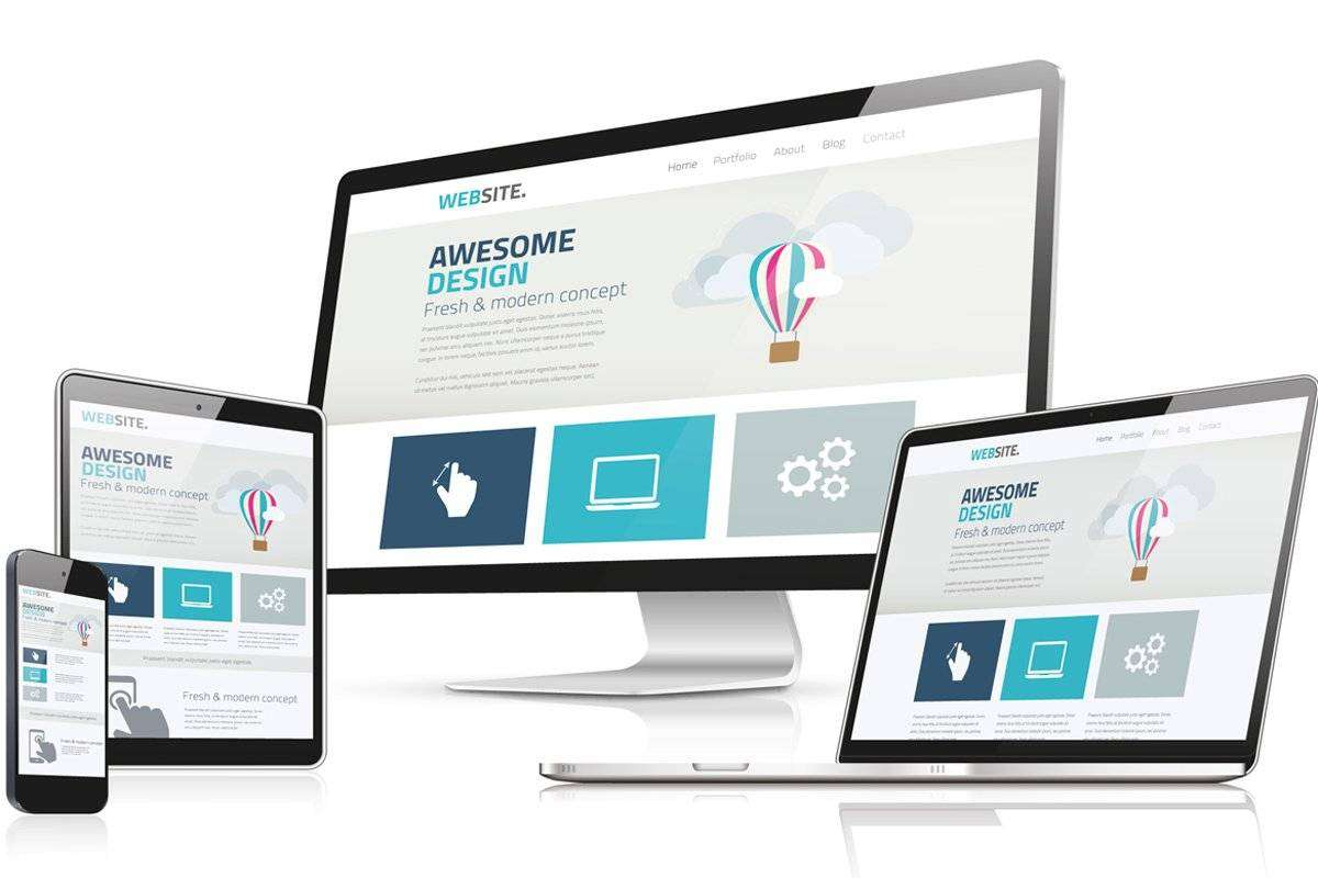 Responsive Web Design and development by taiba creations